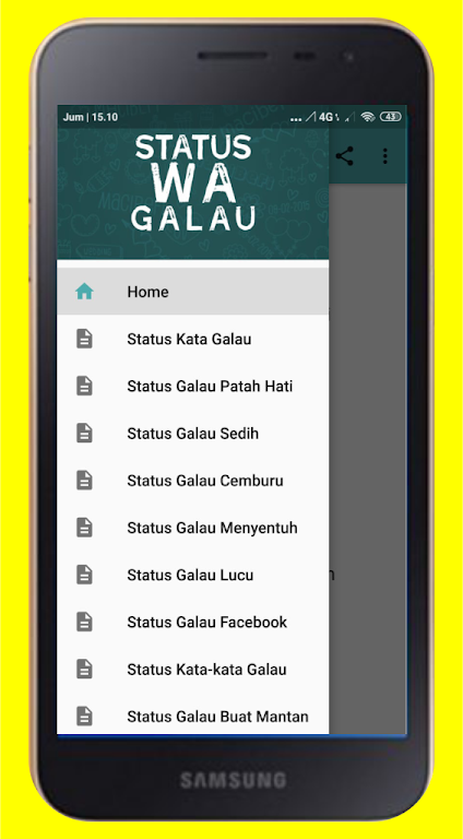 Download Status Wa Galau Apk Latest Version 50 For Android
