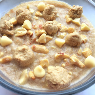 White Chocolate Peanut Butter Cookie Dough Protein Notmeal