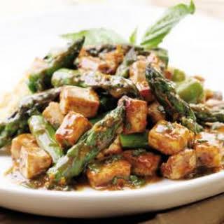 Savory Orange-Roasted Tofu & Asparagus.