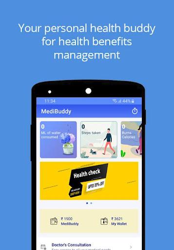 MediBuddy - Platform for Cashless Healthcare screenshot 1