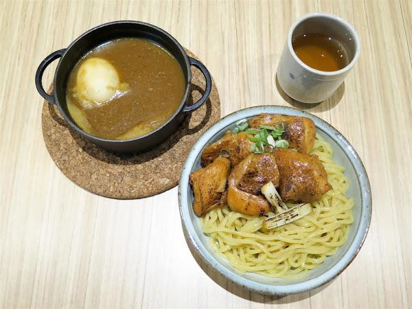 Nani麵 -- 赤崁樓附近低調又樸實的日式豚骨魚介沾麵專賣店