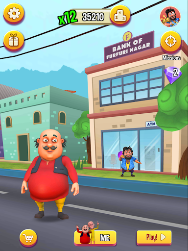 Motu Patlu Run  gameplay | by HackJr.Pw 13