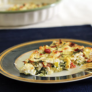 Sun Dried Tomato and Spinach Quiche