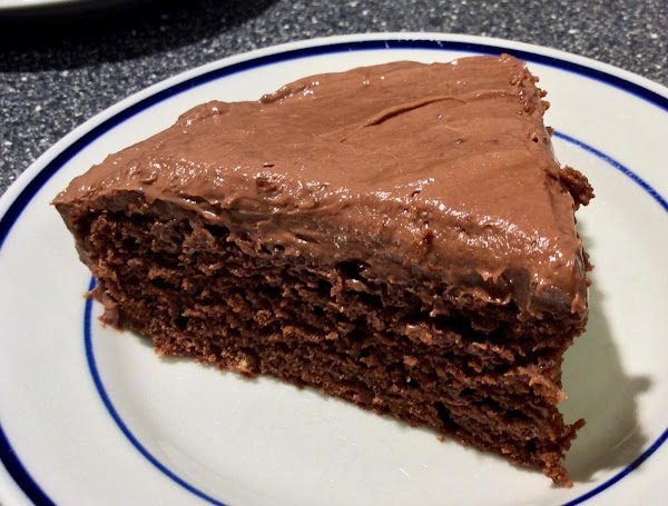 Black Devil's Food Cake Recipe
