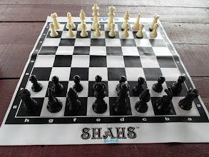 Photo: This chess set is a special gift from my friend Esther (PM19 SSTC) ;)