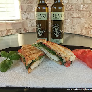 Tuscan Herb Panini with White Balsamic Aioli