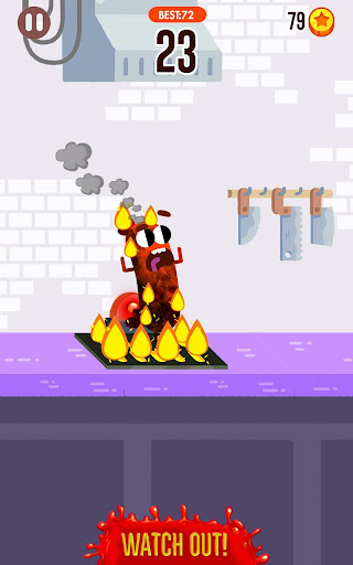Run Sausage Run! screenshot 2