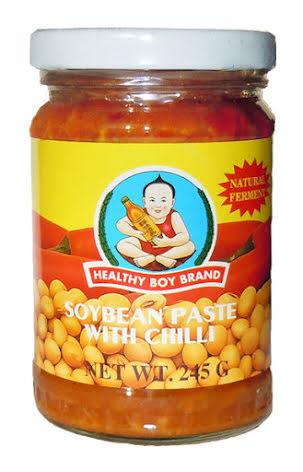 Soybean Paste w Chili 245g Healthy Boy
