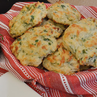 Herb and Cheese Drop Biscuits