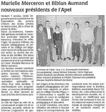 Photo: 20071127 CO Présidents APEL