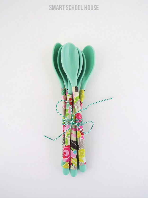 floral spoons, a craft that makes money
