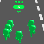 fun race 3d games icon