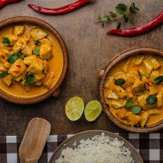 Chicken Curry With Cooked Chicken Recipes.