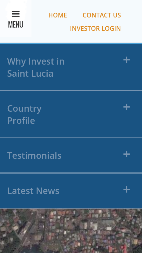 Invest Saint Lucia- screenshot