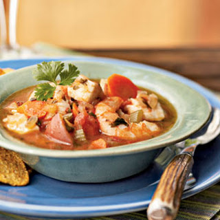 Southwest Cilantro Fish Stew