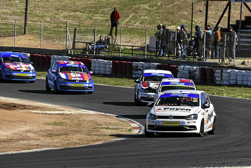 Devin Robertson (Payen Polo) secured the Engen Volkswagen Cup title at  Killarney.    Picture: QUICKPIC