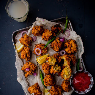 Chicken Corn Fritters.