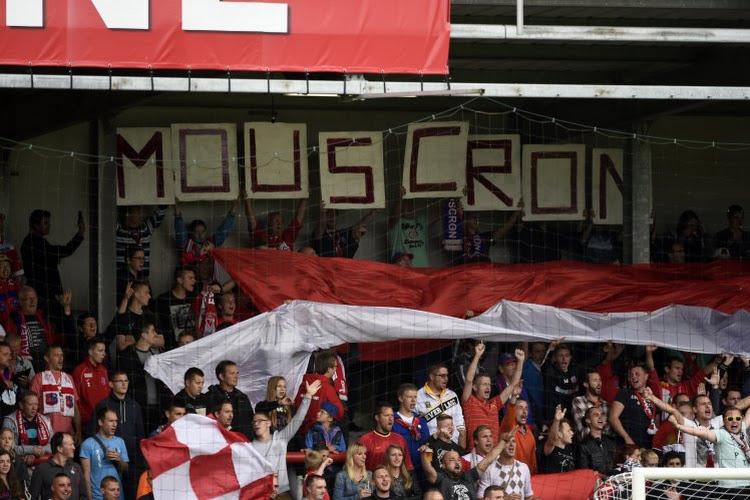 """Les supporters de Mouscron blasés : """"La communication du club est catastrophique"""""""