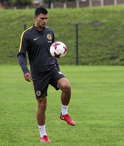 Lorenzo Gordinho of Kaizer Chiefs not sure of his future.