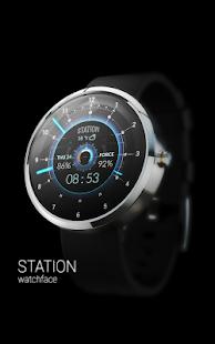 STATION - Watch face Screenshot 1
