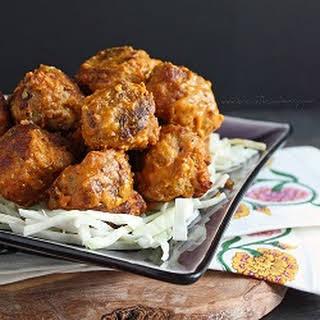 Carolina BBQ Meatballs (Low Carb & Gluten Free).