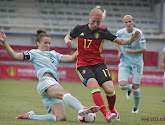 FOTO: Belgische speelsters reageren op grappige wijze op gelach om wereldkampioenschap