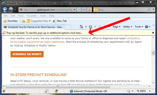 How to...Disable a Pop-Up Blocker - ACCESS EdTech on