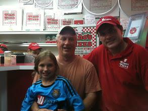 Photo: Chris Walker and his daughter visiting Pinos!
