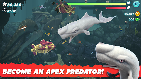 Hungry Shark Evolution (MOD, Unlimited Money) 4