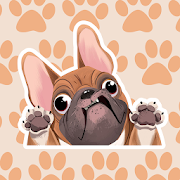 FrenchieMoji Stickers - French Bulldog Emojis