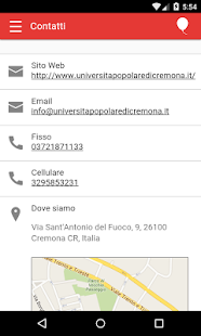 Università Popolare di Cremona- screenshot thumbnail