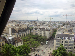 Photo: View of Paris from top of Pompidou Center