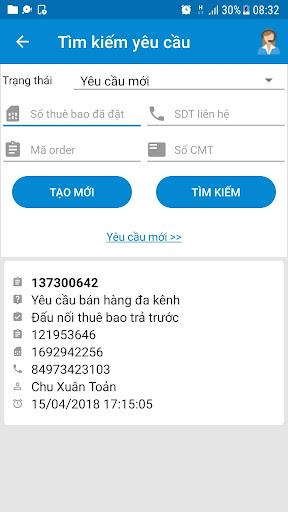 mBCCS 2.0 - Viettel Telecom 5.3.0 screenshots 6