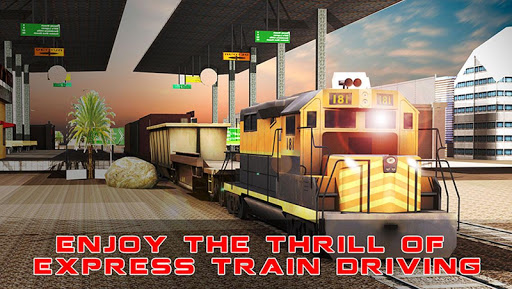 3D貨物列車クレーンシミュレータ