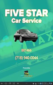 Five Star Car Service screenshot 3