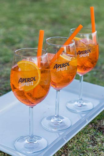 Aperol spritz made with Aperol, 750ml, R229, available at leading liquor retailers and select wine stores