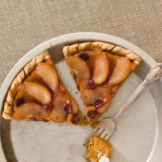 Pear and Cranberry Pumpkin Pie Recipe
