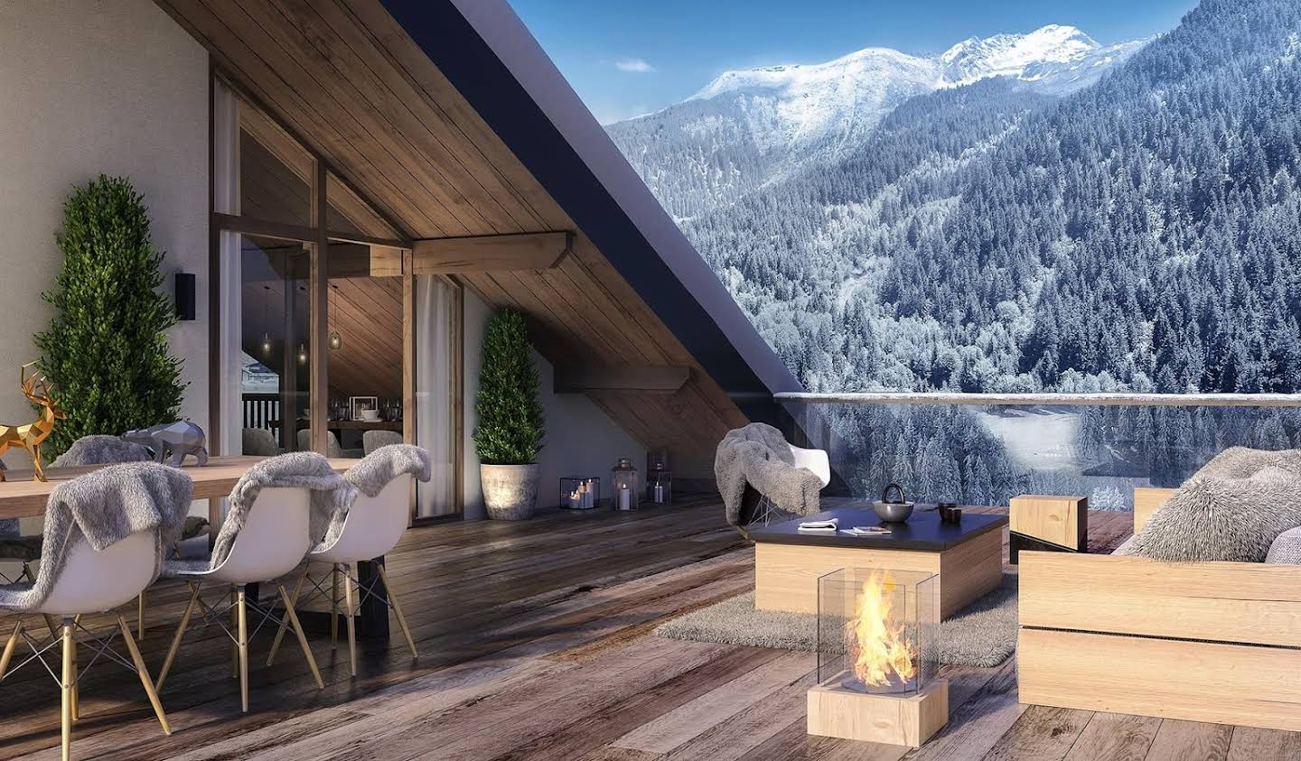 Apartment with terrace Champagny-en-Vanoise