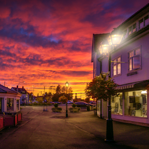 Askim, Norway 0217 - City Street Sunset.jpg