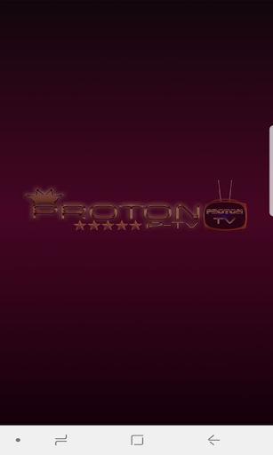 Proton Iptv Pro2 1.0 screenshots 1