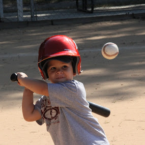 Little Slugger... by Charles Richardson - Babies & Children Children Candids