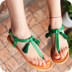 Flat Sandal Ideas Icon