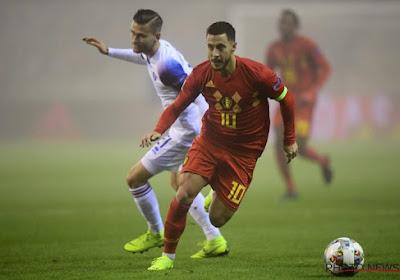 """Hazard n'a pas connu un parcours sans encombre en sélection: """"Tout ne s'est pas pas toujours bien passé"""""""