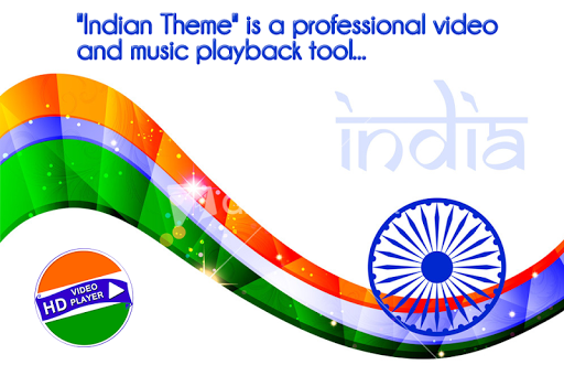 Independence Day Video Player : 15th August 2018 1.1 screenshots 1
