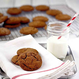 Soft and Chewy Molasses Spice Cookies.
