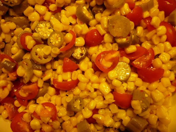 Down Home Vegetable Salad Recipe