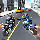 Moto Racer Stick Fight