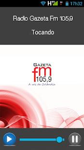 Rádio Gazeta Fm 105,9 - náhled