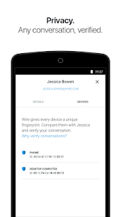 Wire - Private Messenger Screenshot 5