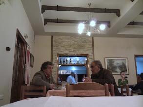 Photo: locals in their greek taverna